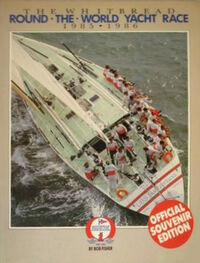 Withbread Round the World Yatch Race 85-86 official Souvenir programme Le Bon paper gods wikipedia Duran Duran