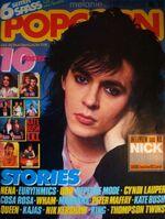 Popcorn wikipedia music magazine DURAN DURAN NICK RHODES POPCORN MAGAZINE