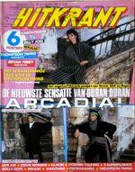 Hitkrant Magazine Duran Modern Talking Billy Joel Saxon arcadia wikipedia collection