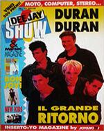 DeeJay Show Magazine-duran-duran