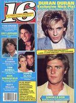 16 magazine duran duran discogs discography duranduran.com music 2