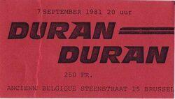 1981 09 07 DuranDuran 7 sep 81