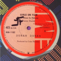 Girls on film columbia green vinyl 446-1102 duran duran wikipedia