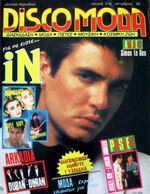 IN DISCOMODA - RARE GREEK MAGAZINE 1985 - DURAN DURAN, DAVID BOWIE, MICK JAGGER wikipedia