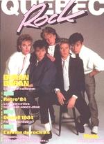 QUEBEC ROCK MAGAZINE 1985 DURAN DURAN