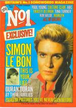 Gg no.1 magazine duran duran discogs