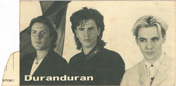 Duran duran concert ticket 1989 a