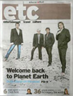 Etc magazine newcastle herald duran duran