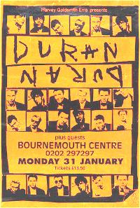 Poster duran duran 1993 fl