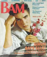 BAM Magazine December 1985 Arcadia Duran Duran Ronnie James Dio Scorpions wikipedia