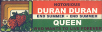 Notorious queen Who Wants To Live Forever promo - Italy 00 1793217 wikipedia duran duran