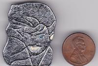 Rare DURAN DURAN Patrick Nagel - Rio wikipedia 1982 Promotional Metal Cloisonne Pin