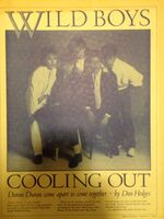 1. Wild Boys Capital Records cooling out magazine wikipedia duran duran 1