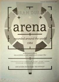 Duran duran arena advert 33