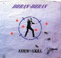 186 a view to a kill james bond usa B-5475 duran duran song discography discogs wikia music