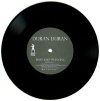 Boys Keep Swinging - Absolute Beginners black vinyl duran duran wikipedia collection