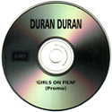 GIRLS ON FILM UK PROMO CD 1998 DURAN DURAN WIKIPEDIA COLLECTION 1
