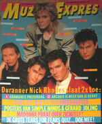 Muziek Expres DECEMBER 1985 MAGAZINE WIKIPEDIA DURAN DURAN