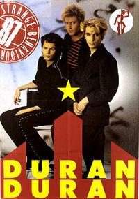 Poster duran duran 1987 ss