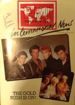 1. EMI records UK International News Magazine. March April 1983. wikipedia magazine duran duran