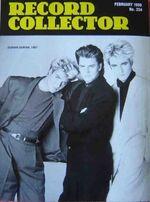 Record collector magazine wikipedia DURAN DURAN MAGAZINE feb -1999