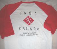 DURAN DURAN T-SHIRT CANADA 1984 TOUR