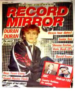 Record mirror duran duran 11 9 82
