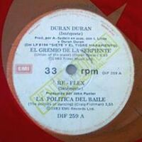 1 union of the snake argentina DIF 259 EMI DURAN DURAN DISCOGRAPHY WIKIPEDIA