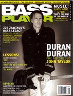Bass player magazine duran duran