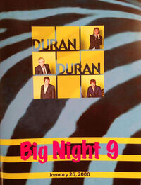 Big night 9 boston concert wikipedia duran duran discography