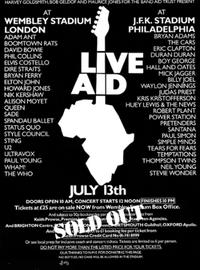 Live aid wikipedia duran duran poster