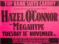 Top rank suite cardiff hazel o'connor wikipedia duran duran megahype tour