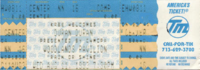Woodlands Pavilion, Houston, TX, USA. wikipedia duran duran ticket stub collection look at