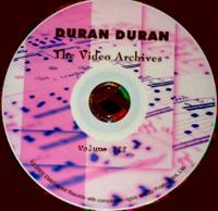 The video archives DURAN DURAN VOLUME 3