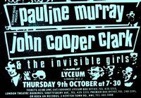 1 Invisible Girls - Lyceum Auditorium, London, England duran duran poster 9 october 1980