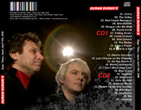 1 Recorded live at Zepp, Tokyo, Japan, April 14th, 2008. duran duran wikipedia 1