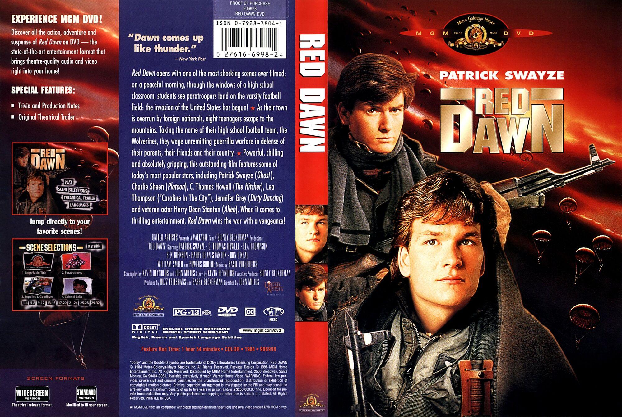 Red Dawn 1984 DVD Database FANDOM Powered By Wikia