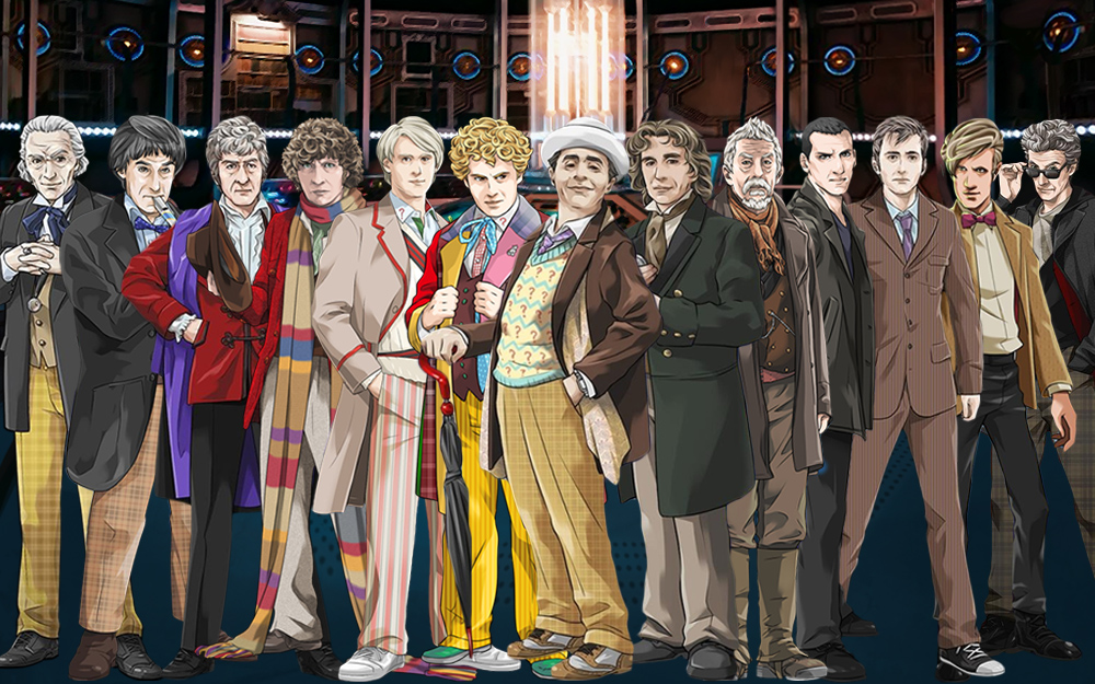 all the doctors from doctor who meet