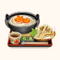 Kamaage Udon with Maitake and Sauce (TMR)
