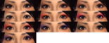 Female Eye Shadow Colors (DW7E)