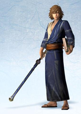 File:Takakage Kobayakawa Yukata Costume (SW4E DLC).jpg