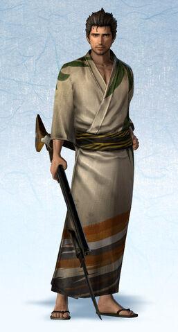 File:Magoichi Saika Yukata Costume (SW4E DLC).jpg
