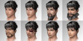 Male Faces (SSM SLASH)