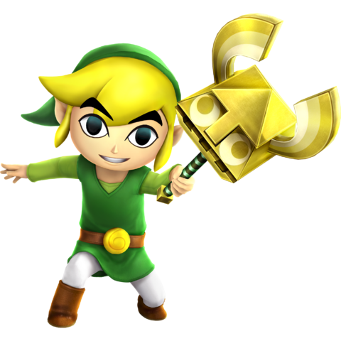File:Toon Link - Sand Wand (HWL).png