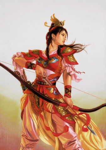File:Sun Shangxiang Illustration (ROTK12TB).jpg