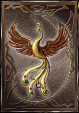 Peacock Amulet (DWB)