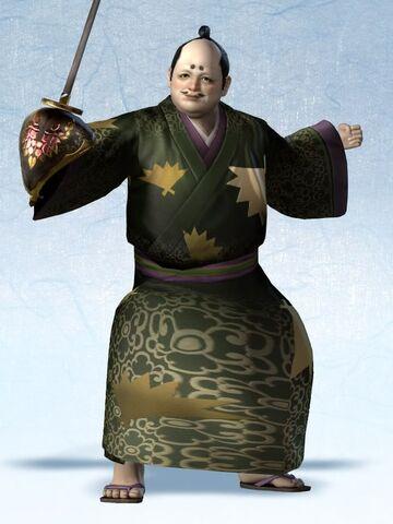 File:Yoshimoto Imagawa Yukata Costume (SW4E DLC).jpg