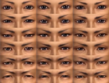 Male Eyes (DW7E)