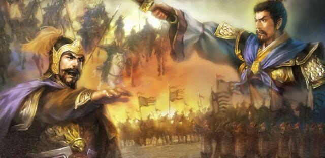 File:Yuan Shao & Cao Cao - Guan Du.jpg