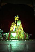 Zhuge Liang sculpture